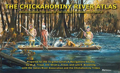 Chickahominy River Atlas - First Edition