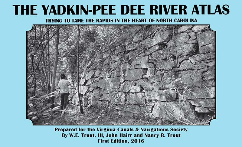 Yadkin / Pee Dee River Atlas - First Edition, 2016